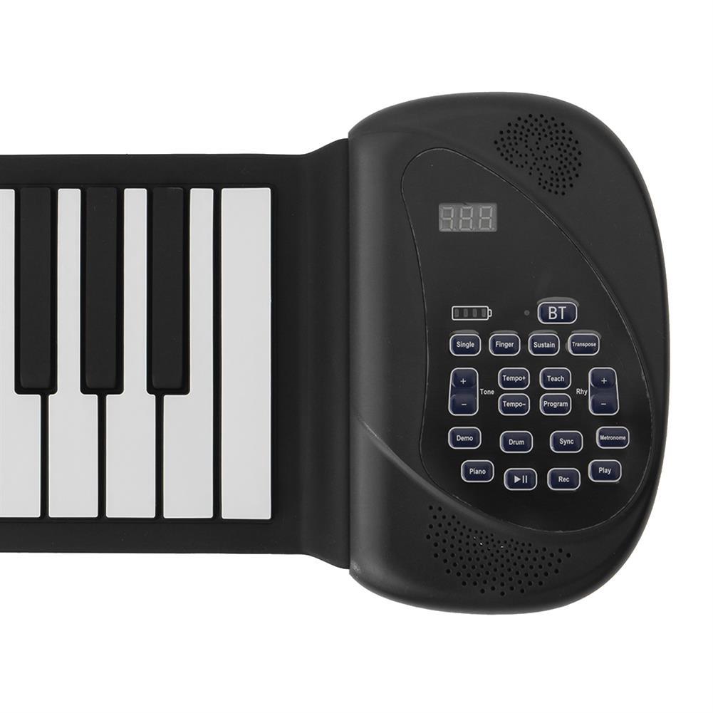 roll-up-piano Huasky 88 Standard Keys Foldable Portable Electronic Keyboard Roll Up Piano HOB1838352 1