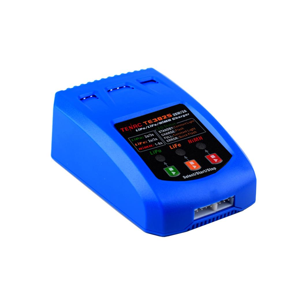 battery-charger TENRC TE3025 25W/3A Battery Balance Charger for 2-3S Lipo Battery HOB1838642 1