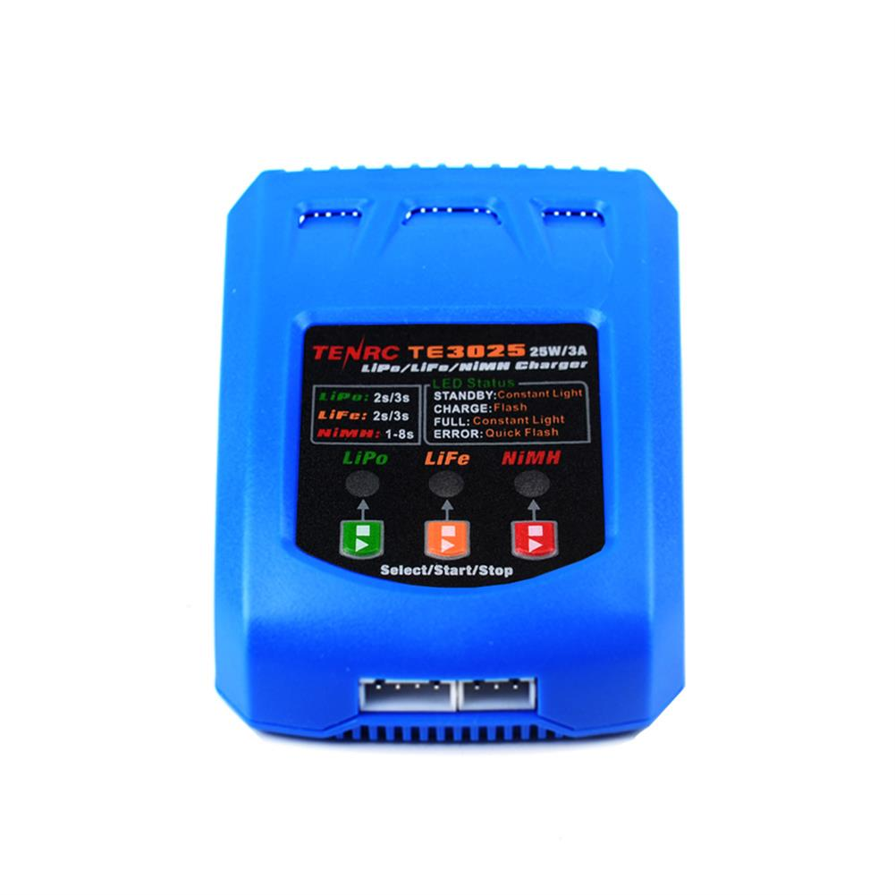 battery-charger TENRC TE3025 25W/3A Battery Balance Charger for 2-3S Lipo Battery HOB1838642 3