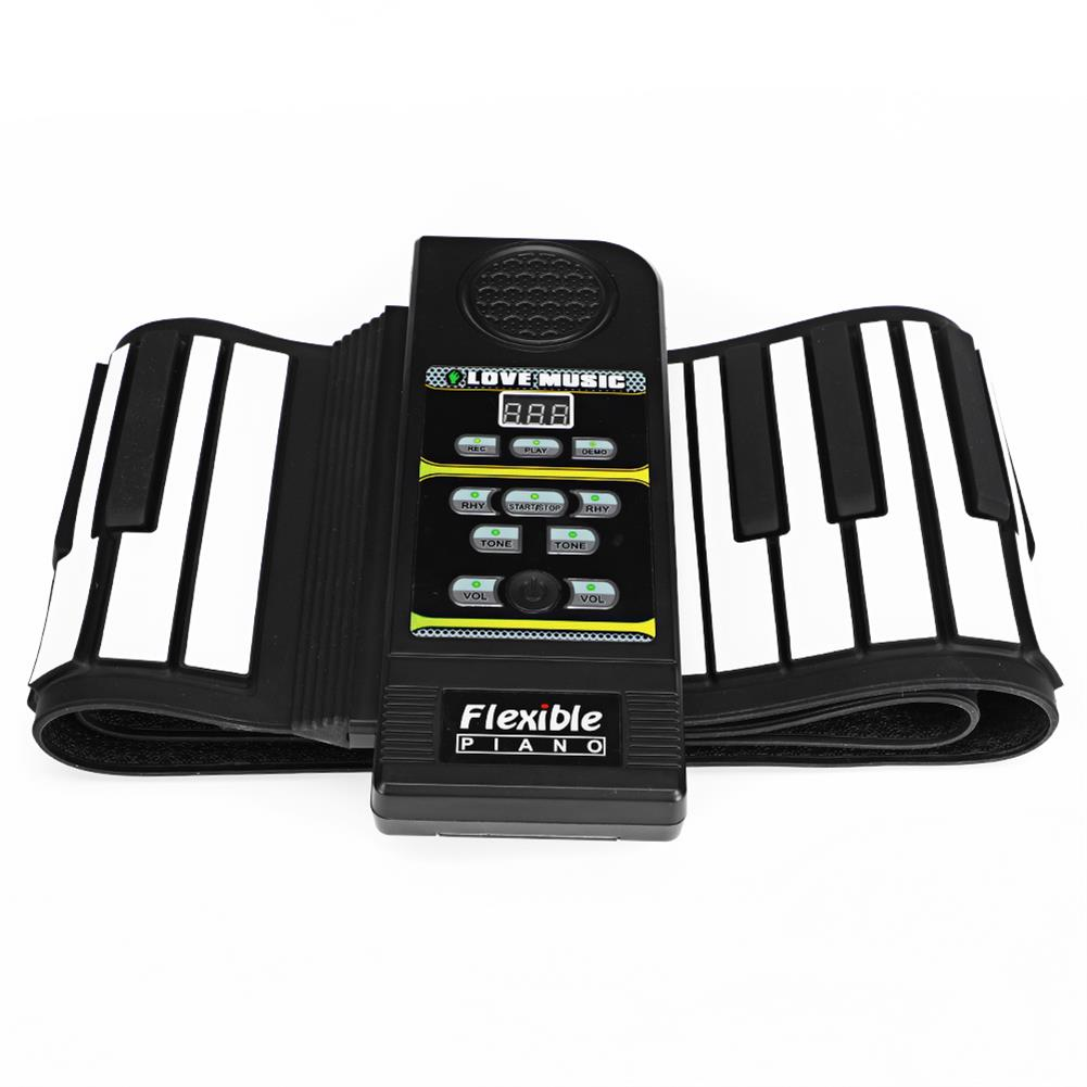 roll-up-piano 88 Standard Keys Foldable Portable Electronic Keyboard Roll Up Piano HOB1838768