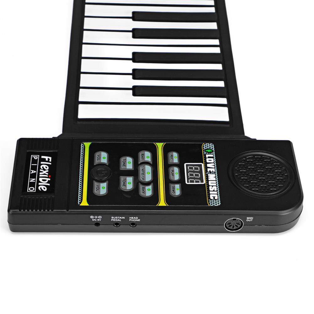 roll-up-piano 88 Standard Keys Foldable Portable Electronic Keyboard Roll Up Piano HOB1838768 3