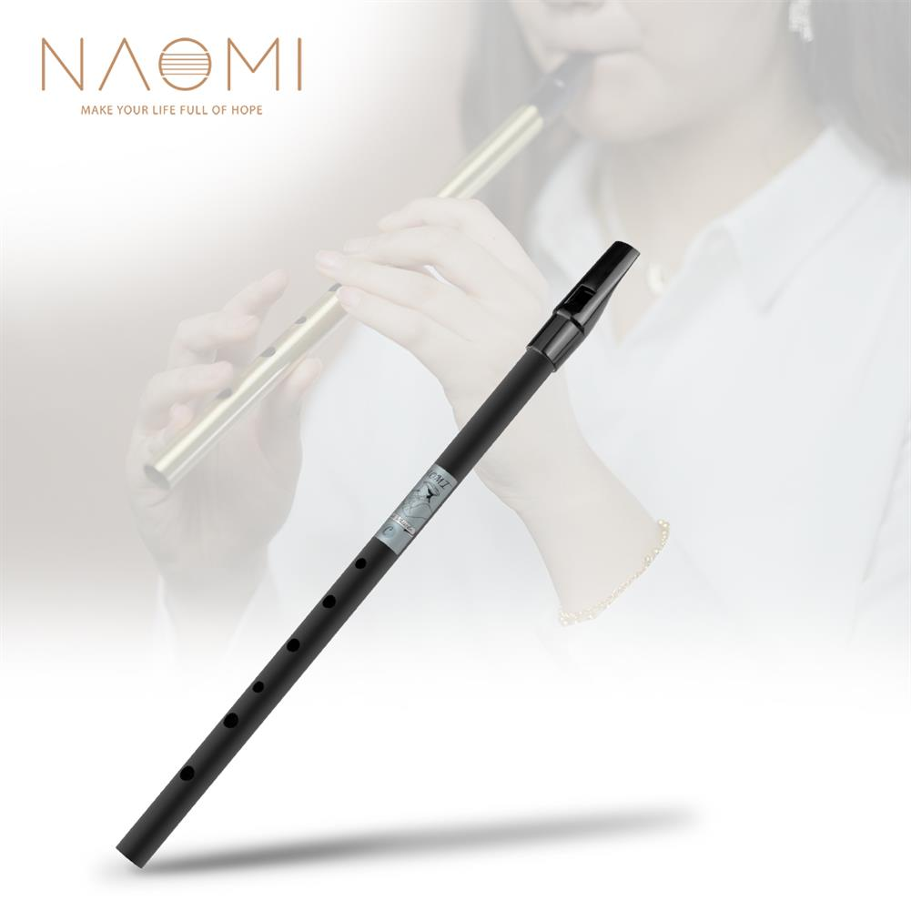 piccolo NAOMI Penny Whistle Irish Whistle Black Color Tin Whistle for Beginners Or Advanced Players HOB1839751
