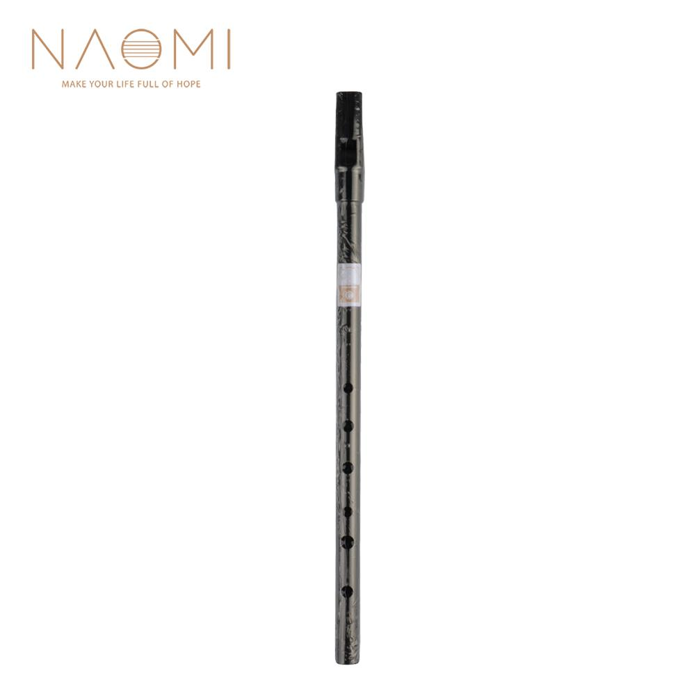 piccolo NAOMI Penny Whistle Irish Whistle Black Color Tin Whistle for Beginners Or Advanced Players HOB1839751 1