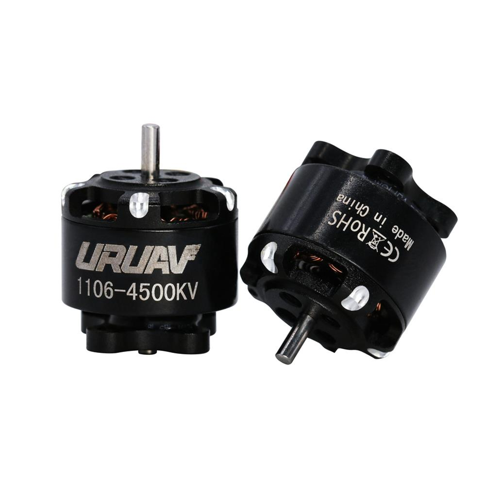 multi-rotor-parts URUAV 1106 4500KV 2-4S Brushless Motor w/ 60mm Cable JST 1.25 Connector for Flipo F95 RC Drone FPV Racing HOB1840075
