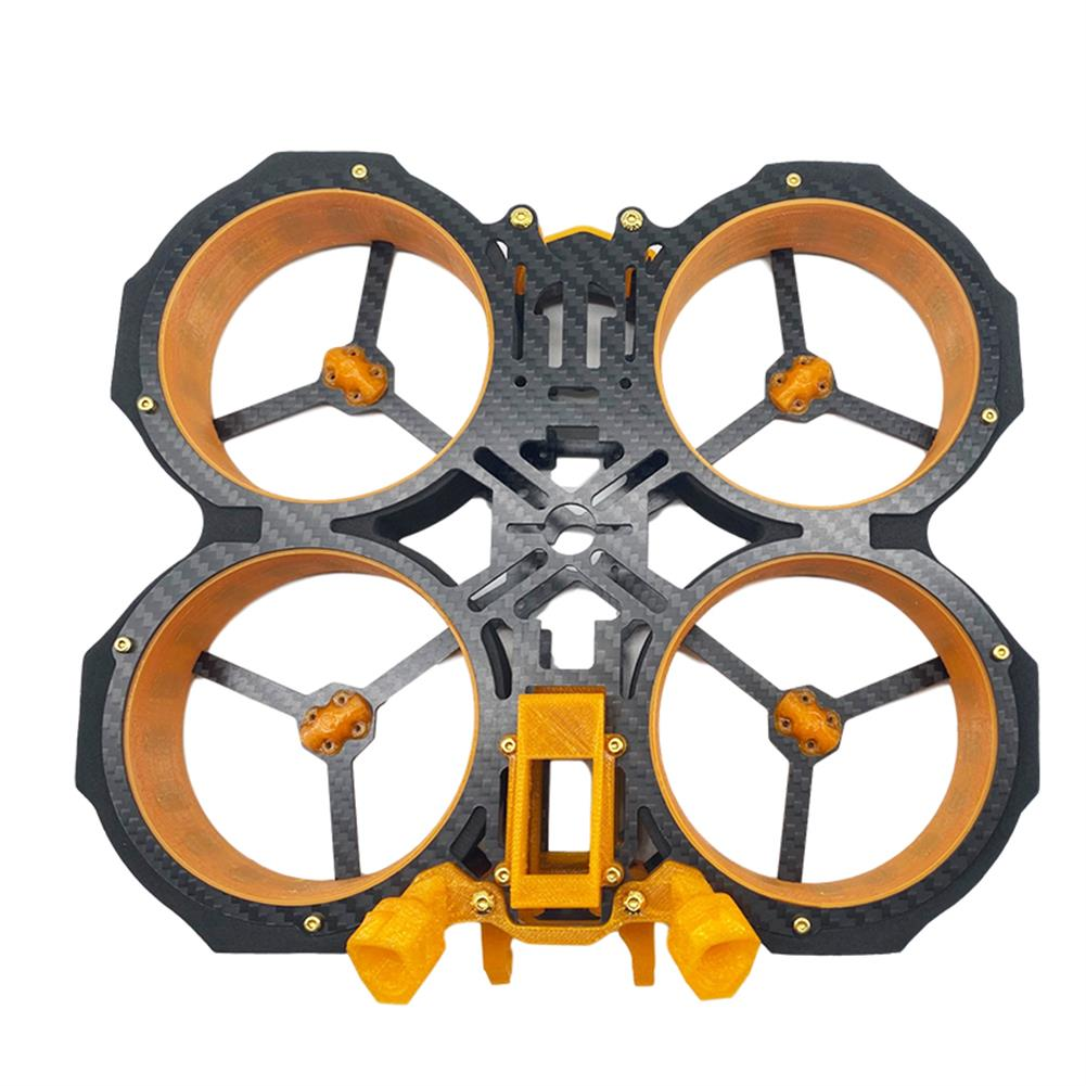 multi-rotor-parts AuroraRC MAMFU 153mm Wheelbase 3 inch Frame Kit HD Version Compatibled with DJI Air Unit for FPV Racing Drone HOB1840136