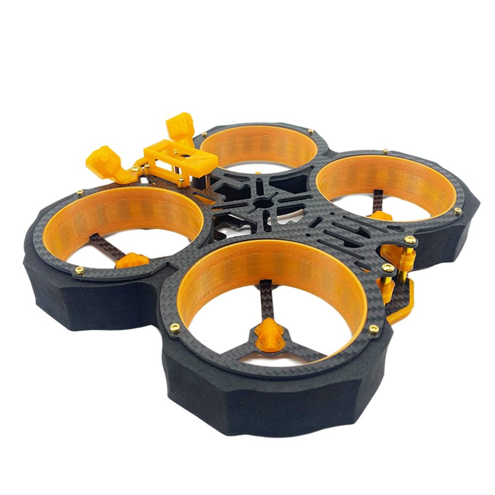 multi-rotor-parts AuroraRC MAMFU 153mm Wheelbase 3 inch Frame Kit HD Version Compatibled with DJI Air Unit for FPV Racing Drone HOB1840136 1