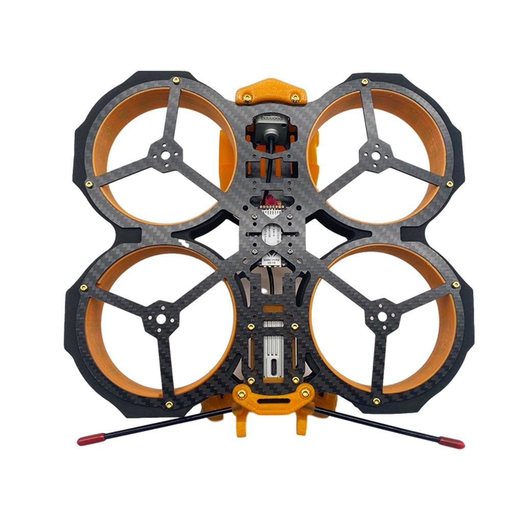multi-rotor-parts AuroraRC MAMFU 153mm Wheelbase 3 inch Frame Kit HD Version Compatibled with DJI Air Unit for FPV Racing Drone HOB1840136 2