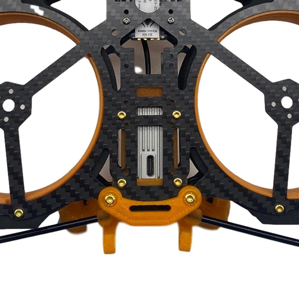 multi-rotor-parts AuroraRC MAMFU 153mm Wheelbase 3 inch Frame Kit HD Version Compatibled with DJI Air Unit for FPV Racing Drone HOB1840136 3