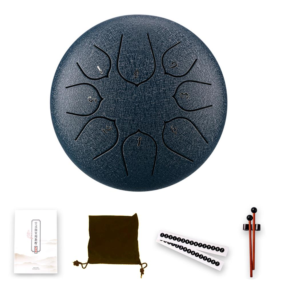 steel-drums Steel Tongue Drum 6 inch 5 Tune 8 Notes Handheld Tank Drum Ethereal Hand Pan Drum Musical Percussion instruments HOB1840141