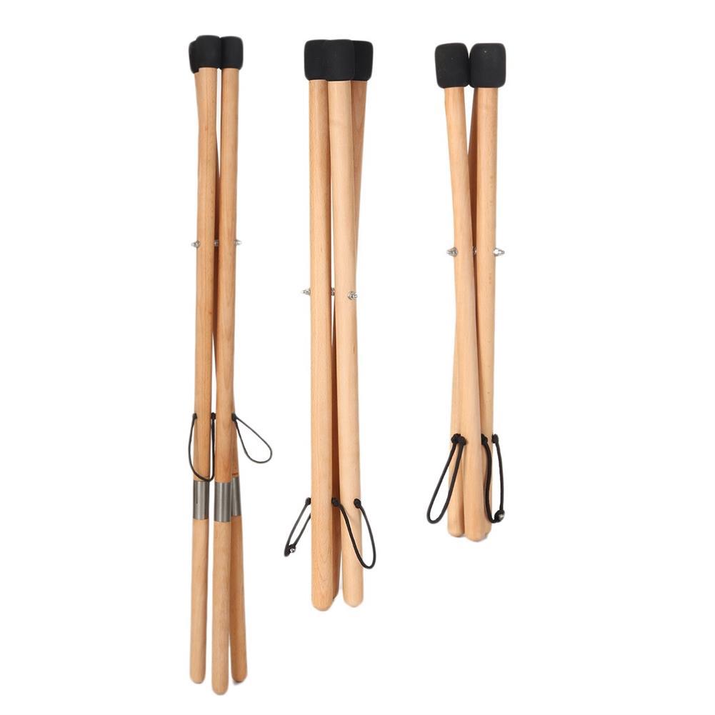 percussion-accessories HLURU Musical instrument Handpan Steel Tongue Drum Universal Solid Wood Performance Drum Bracket HOB1840599 1
