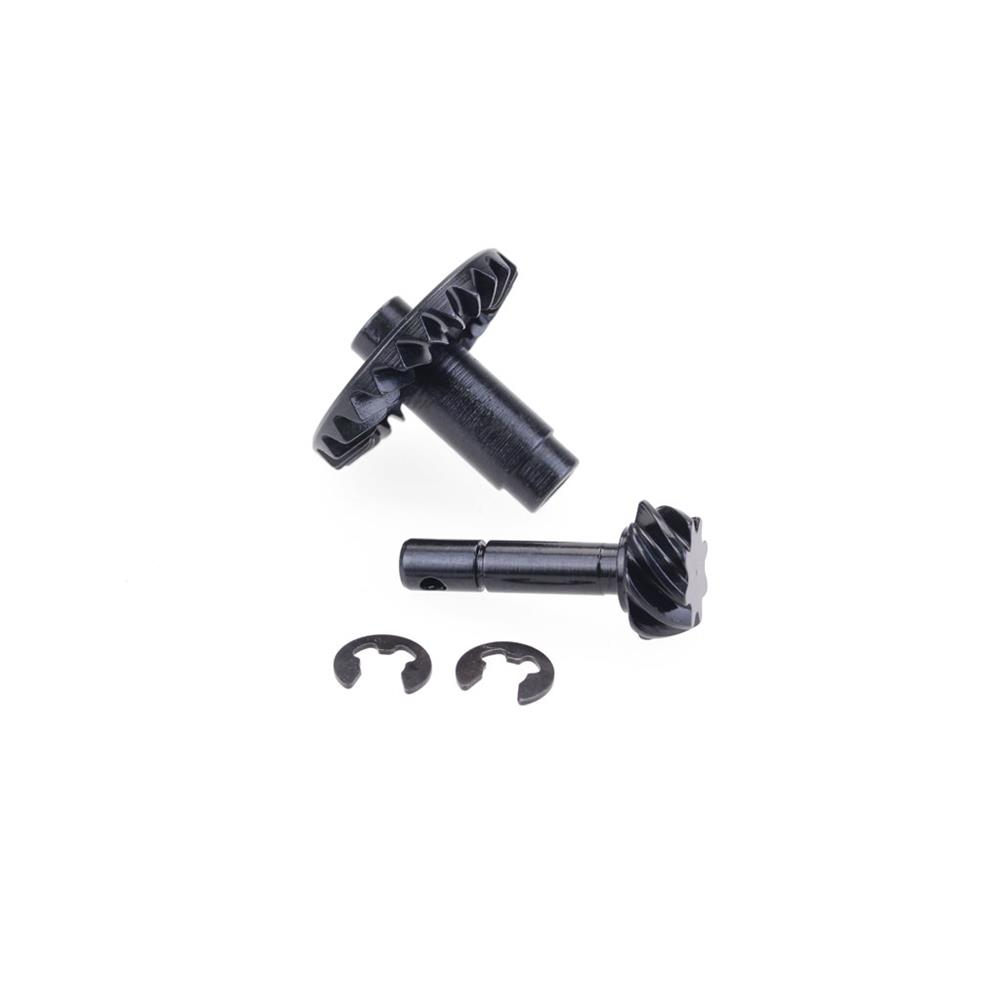 rc-car-parts ZD Racing Steel Helical Gear + Gear Shaft for SCX10 RC Car Parts HOB1840630 2