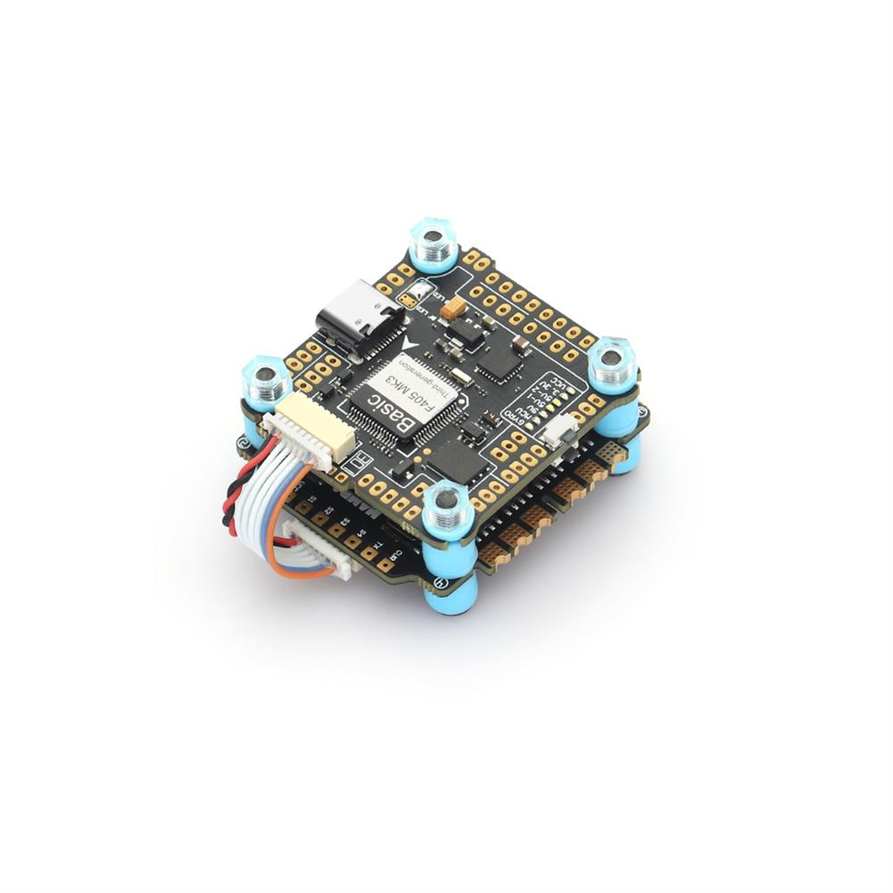 multi-rotor-parts 30.5x30.5mm MAMBA Stack Basic F405 MK3 F4 Flight Controller F50_BLS / F50_BL32 50A 3-6S Brushless ESC for RC Drone FPV Racing HOB1840752 2