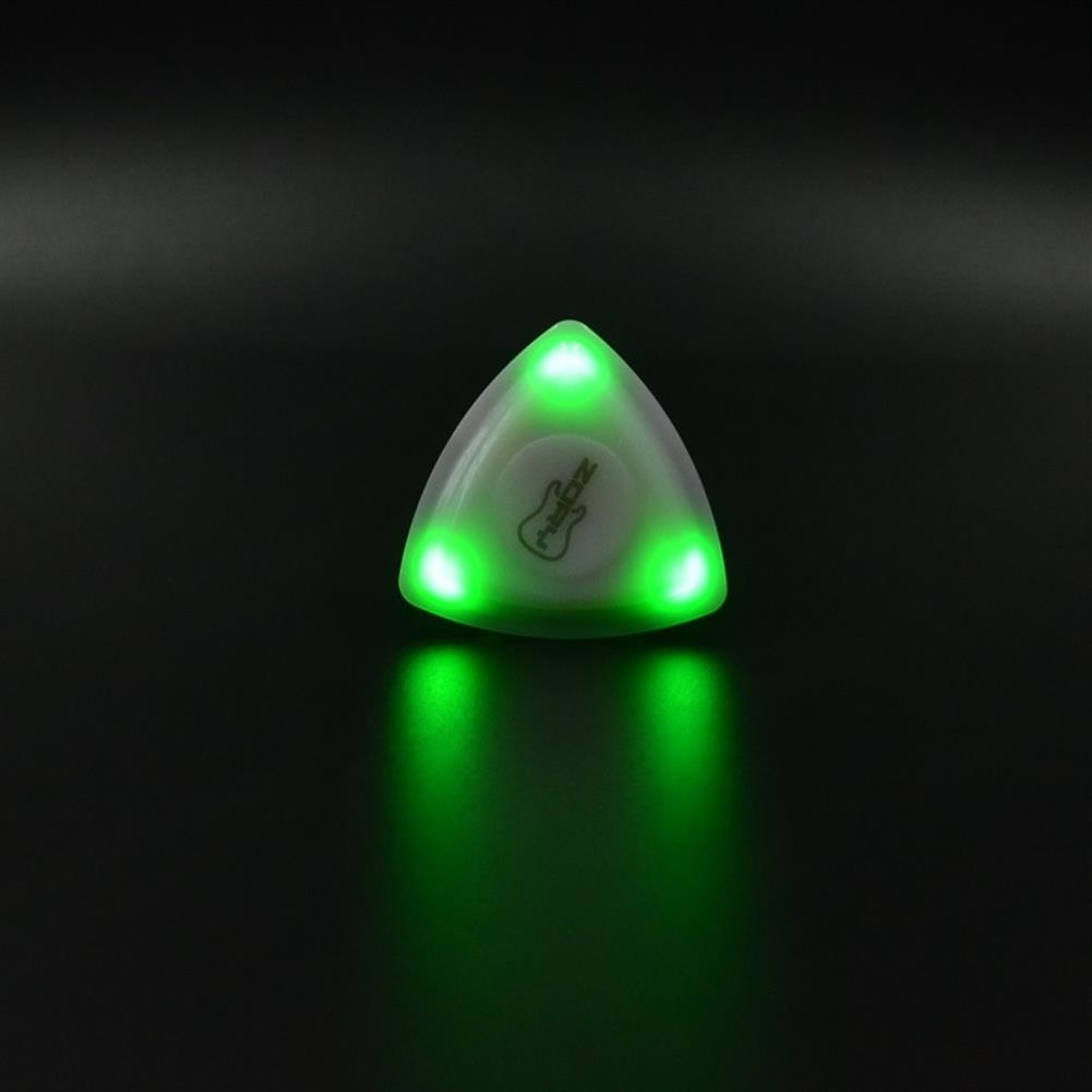 guitar-accessories ZORY Pressed LED Lighting Guitar Pick Luminous Guitar Pick Playing Guitar Aaccessories HOB1840841 2