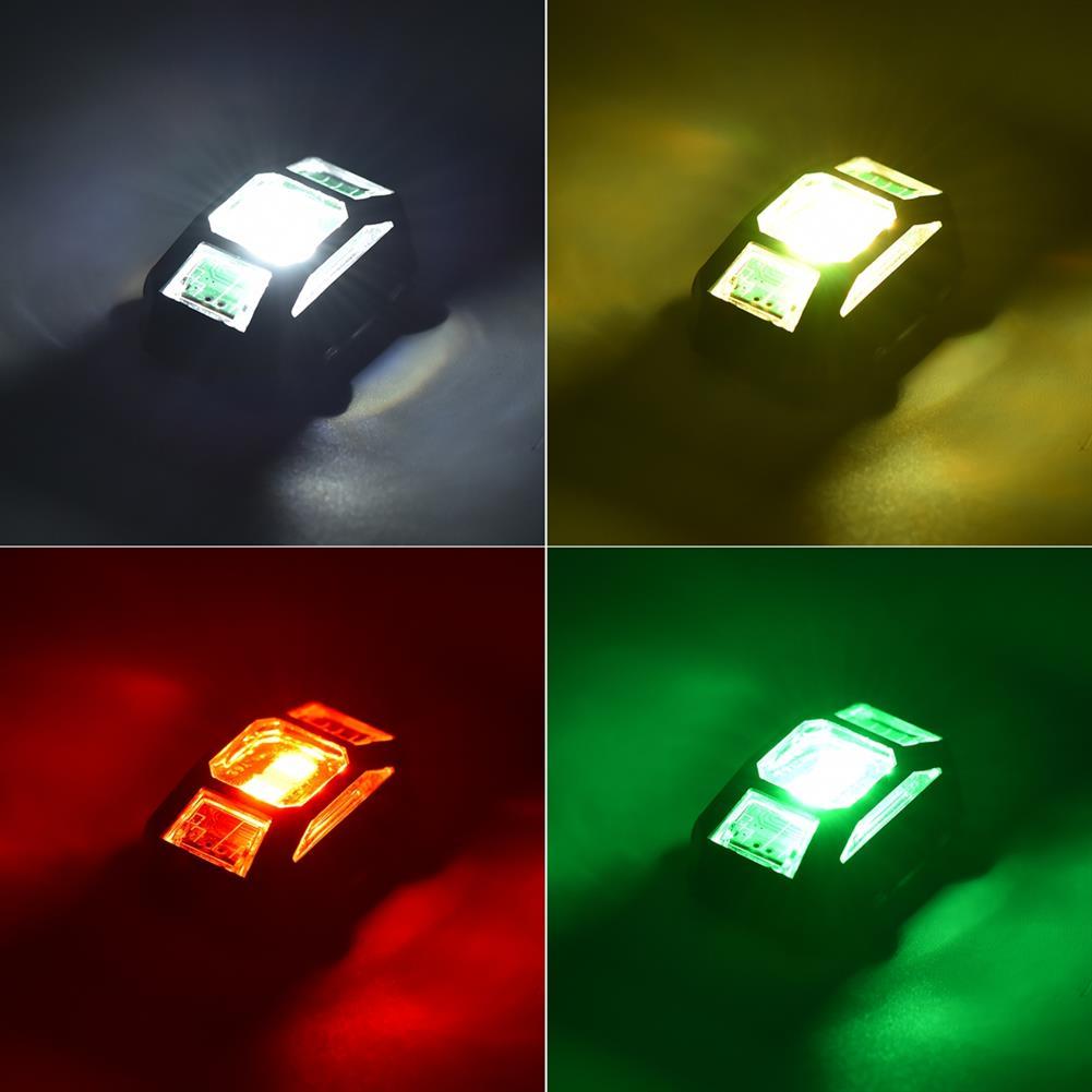 rc-quadcopter-parts STARTRC LED Night Flight Flash Light Signal Strobe Alarm indicator Lamp for DJI AIR 2S/Mavic Air 2/Mini 2/FPV Combo HOB1841827 1
