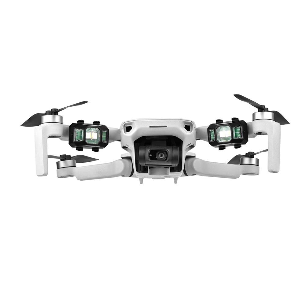 rc-quadcopter-parts STARTRC LED Night Flight Flash Light Signal Strobe Alarm indicator Lamp for DJI AIR 2S/Mavic Air 2/Mini 2/FPV Combo HOB1841827 3