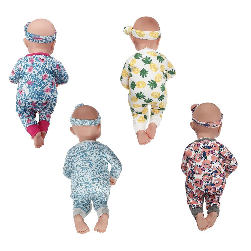 baby-rattles-mobiles 45cm Soft Silicone Vinyl Dolls Realistic Handmade Newborn Baby for Children Birthday Gift Play Toys HOB1841891 1