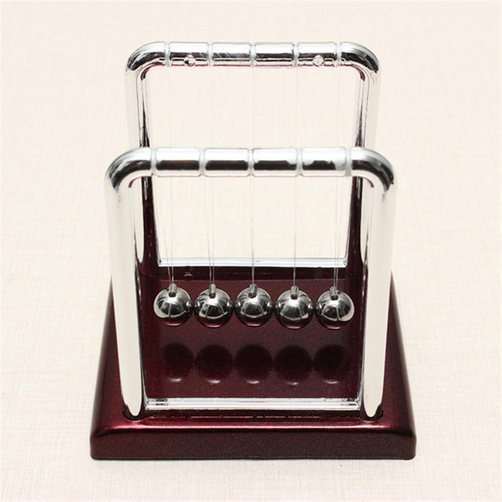 science-discovery-toys STEM Small Size Cradle Steel Balance Ball Physics Pendulum Toys HOB923211 1