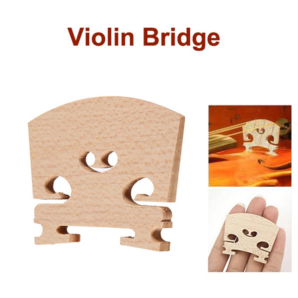 strings-accessories Violin Bridges Fiddle Maple Wood Laser Cut for 4/4 Size HOB959706