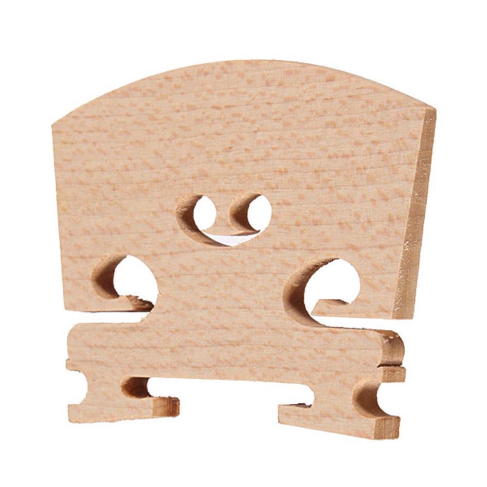 strings-accessories Violin Bridges Fiddle Maple Wood Laser Cut for 4/4 Size HOB959706 1