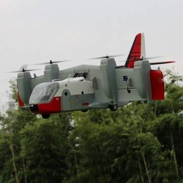 Unique Models LTV XC-142 Tilt-wing RC Aircraft Airplane PNP
