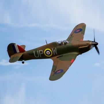 Dynam Hawker Hurricane 1250mm 49″ Wingspan RC Airplane PNP
