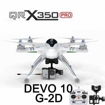 Walkera QR X350 Pro RC Quadcopter Devo 10 G-2D For Gopro 3