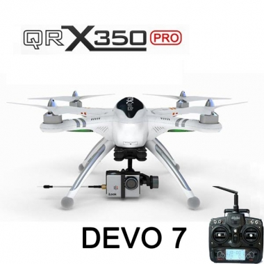 Walkera QR X350 Pro RC Quadcopter DEVO 7 For Gopro 3