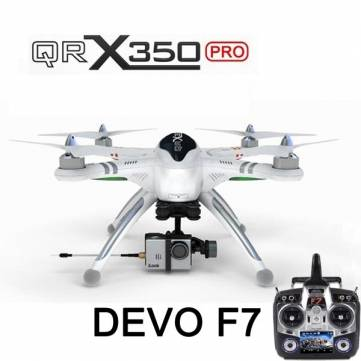 Walkera QR X350 Pro RC Quadcopter DEVO F7 For Gopro 3