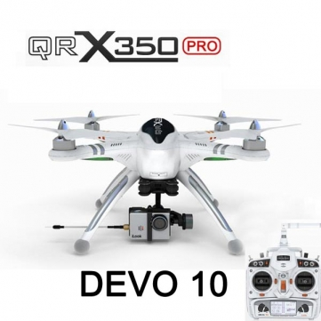 Walkera QR X350 Pro RC Quadcopter DEVO 10 For Gopro 3