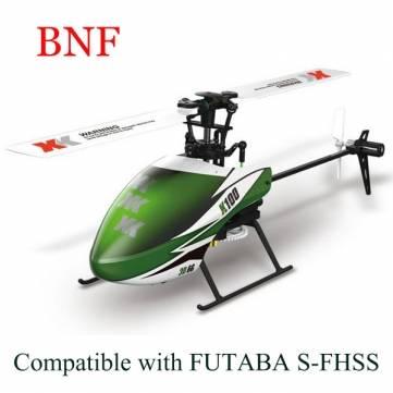 XK K100 Falcom 6CH Flybarless 3D6GRC Helicopter