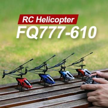 FQ777-610 AIR FUN 3.5CH RC Helicopter With Gyro
