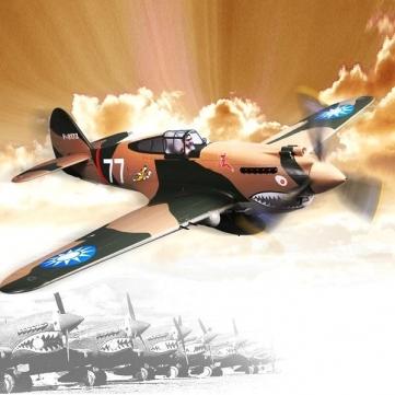 FMS P-40B Flying Tigers 1400mm Wingspan Warbird PNP