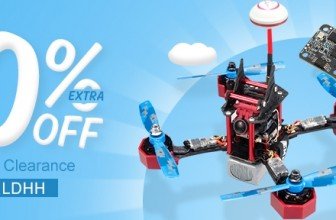 Multi-Rotor Clearance at Banggood: Extra 20% Off