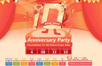 2016 Banggood 10th Anniversary Party Sale